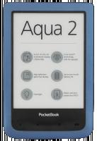 Elektronická čtečka Pocketbook Aqua 2 azurová