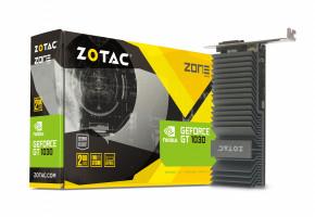 ZOTAC GeForce GT 1030 ZONE Edition Low Profile, 2GB GDDR5, DVI-D, HDMI 2.0b