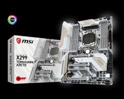 Základní deska MSI X299 TOMAHAWK ARCTIC, LGA2066, Intel X299, 8x DDR4-4266, ATX