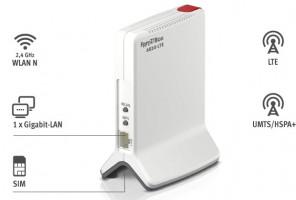 AVM FRITZ!Box 6820 LTE, Jednopásmový (2,4 GHz), Gigabit Ethernet,3G, 4G, bezdrátový router