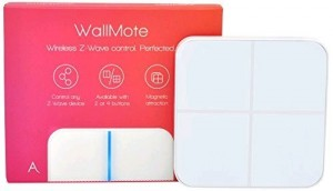 Aeotec WallMote Quad, Z-Wave Plus - Stěnový přepínač + dálkové ovládání