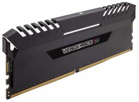 Corsair Vengeance CMR64GX4M4A2666C16, DDR4, 2666 MHz, 64GB (4x16 GB), DDR4, paměťový modul