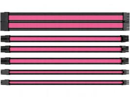 Thermaltake Plochý kabel, růžový