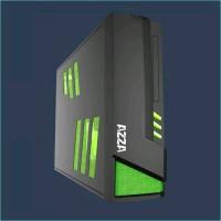 AZZA Z černá, PC skříň