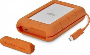 "LaCie Rugged® Thunderbolt, 2,5"", USB-C 1TB USB3.1"