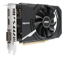 MSI GeForce GTX 1050 Ti AERO ITX 4G OCV1 / PCI-E / 4096MB GDDR5 / HDMI / DL DVI-D / DP / active