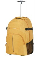 "Backpack SAMSONITE 10N06006 REWIND 16""2wheels,comp, tblt,doc.pock,sunset yellow"