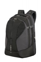 "Backpack SAMSONITE 37N09003 16""4MATION L Exp. comp,tablt,doc.pock,black/silver"