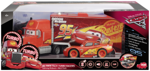 Dickie RC Turbo Mack dráha + blesk McQueen Cars 3 1:24