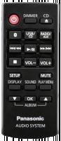 Panasonic SC-HC397EG-K, černá barva, audiosystém