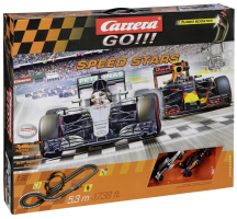 Carrera GO!!! Speed Stars Závodní dráha
