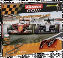 Carrera GO!!! Champions Lap Závodní dráha