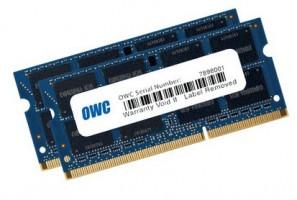 OWC 12GB DDR3-1600 (1 x 4 + 1 x 8), DDR3, 1600MHz, paměťový modul, Určeno pro Mac
