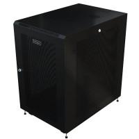StarTech.com RK2433BKM Freestanding rack, 24U, 450kg, Černá, rack