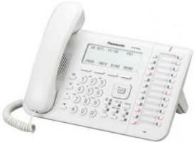 Panasonic KX-DT546, bílá - IP telefon