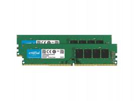 Crucial 2x16GB 2666MHz DDR4 CL19 Unbuffered DIMM