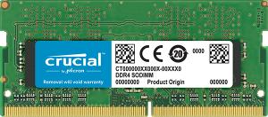 Crucial DDR4 16GB 2666MHZ, SODIMM, CL19