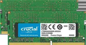 Crucial DDR4 2x16GB 2666MHZ, SODIMM, CL19