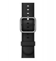 Apple watch, 38mm, řemínek černý kožený