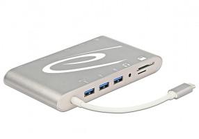 DeLOCK 87298 USB 3.0 (3.1 Gen 1) Type-C přepínač/hub