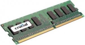 Crucial 1GB DDR2 800MHz, CL6 DIMM