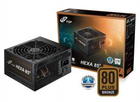 Fortron HEXA 85+ 550, 550W, 80PLUS BRONZE