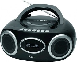 AEG SR 4370, černá - CD přehrávač