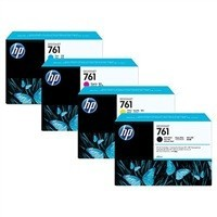 cartridge HP CR272A - cyan - originální, No.761 400ml, 3-pack
