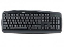 Genius KB-110X klávesnice, drátová, USB, černá, CZ+SK layout