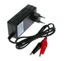 Nabíječka WILSTAR 12V/0,8A pro olověné AGM/GEL akumulátory