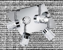 WOFI 9806.04.01.0000 LED Spotové svítidlo MAAR 4xLED 5W Integrated 400 lm