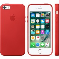 Apple iPhone SE Leather Case (Product)RED