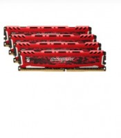 Ballistix Sport LT 32GB sada DDR4 8GBx4 2666 MT/s DIMM 288pin red