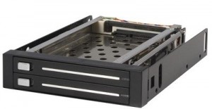StarTech.com 2 Drive 2.5in Trayless Hot Swap SATA Mobile Rack