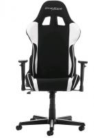 DXRacer Formula, Herní židle, Černá/Bílá