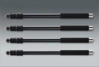 Novoflex QuadroPod nohy Aluminum trojdílné Set 4 kusy, hliníkový, nerezová ocel