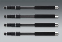 Novoflex QuadroPod legs Carbon fibre čtyřdílné, 4 kusy, Carbon, nerezová ocel
