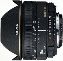 Sigma EX 2,8/15 DG SI/AF Diagonal-Fisheye