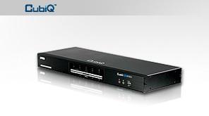 ATEN KVM switch CS-1644 USB Hub 4PC DVI Dual ViewKVMP™, USB, audio