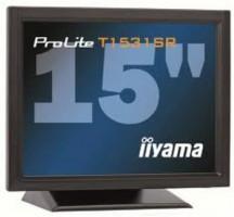 "Iiyama LCD Prolite T1531SR-B1 15"", 5ms, DVI, repro, dotykový monitor, č"