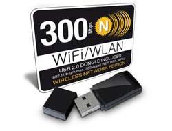 FANTEC WF-300 M 2 WLAN Dongle 300 MBit/s Stick