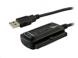 "GEMBIRD Kabel adaptér USB - IDE 2,5""/3,5"" + SATA (redukce + napájecí zdroj)"
