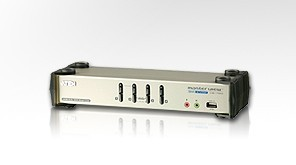 ATEN KVM switch CS-1784 USB Hub 4PC DVI, audio