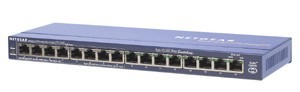 Netgear Switch 16x10/100 Port, 8xPoE Port