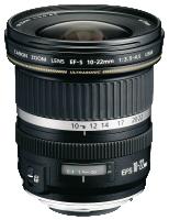 Canon EF-S - Čočky se širokoúhlým zaostřením - 10 mm - 22 mm - f/3.5-4.5 USM - Canon EF-S - pro EOS