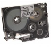 Brother páska TZ-131 - 12mm x 8m - průsvitná / černý text - laminovaná - originální (TZE-131)
