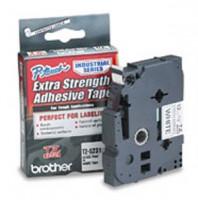 Brother páska TZ-S231 - 12mm x 8m - bílá / černý text - adhezivní, laminovaná - originální (TZE-S231)