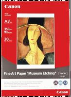 """Canon Fine art papír """"Museum Etching"""" FA-ME1 A3,350g,20listů"""