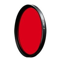 B&W 52E LIGHT červená barva MRC (090M), 52 mm