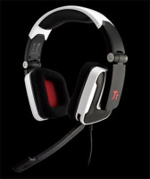 "Tt eSPORTS Headset Shock ""White"" / 40mm Ear-Cup/ 2*3,5mm"